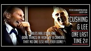 Peter Cushing and Christopher Lee: The Last Meeting Clip 2