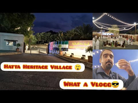 Hatta Heritage Village (Dubai) Vlogging with sketches