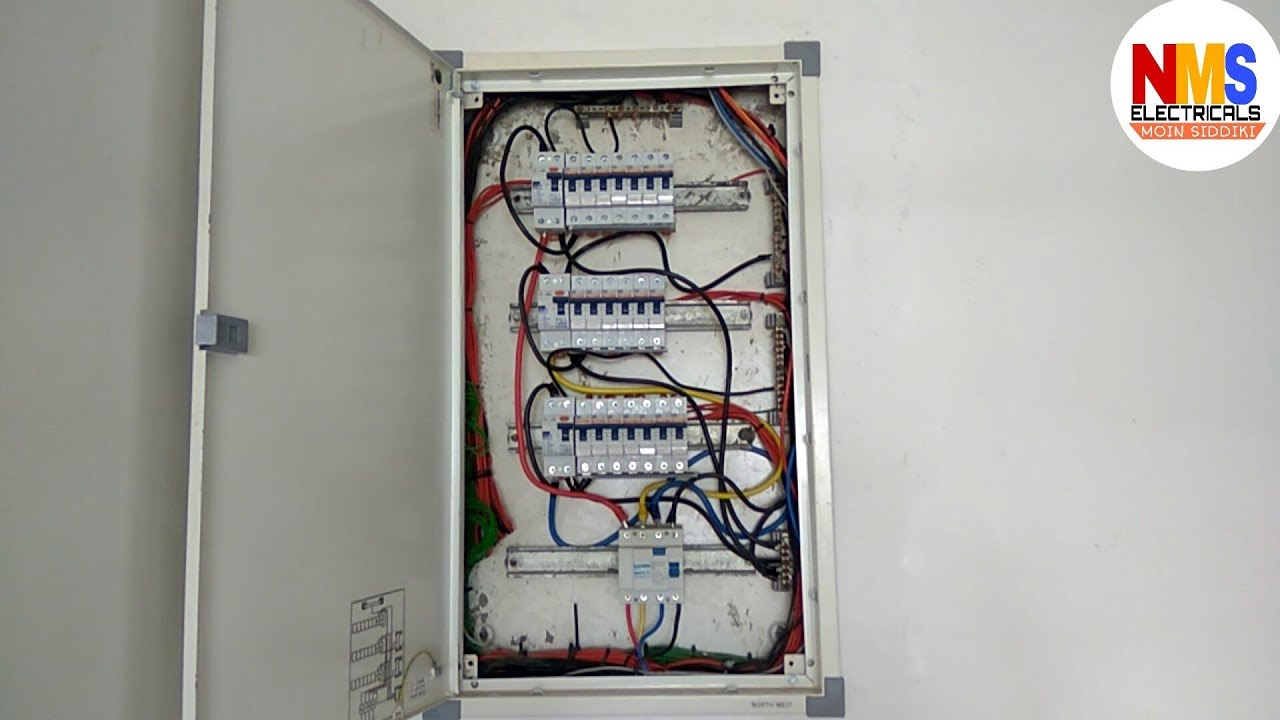 Basic Three Phase Db Wiring Youtube