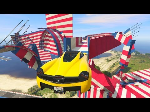 THE MOST INSANE ROLLERCOASTER! - GTA 5 Funny Moments #714