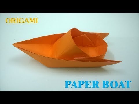 DIY Paper Crafts 2019 | Easy Origami Boat Step By Step | How To Make Professional Paper Boat