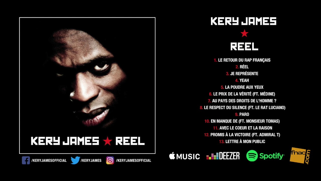 kery james le retour du rap francais mp3