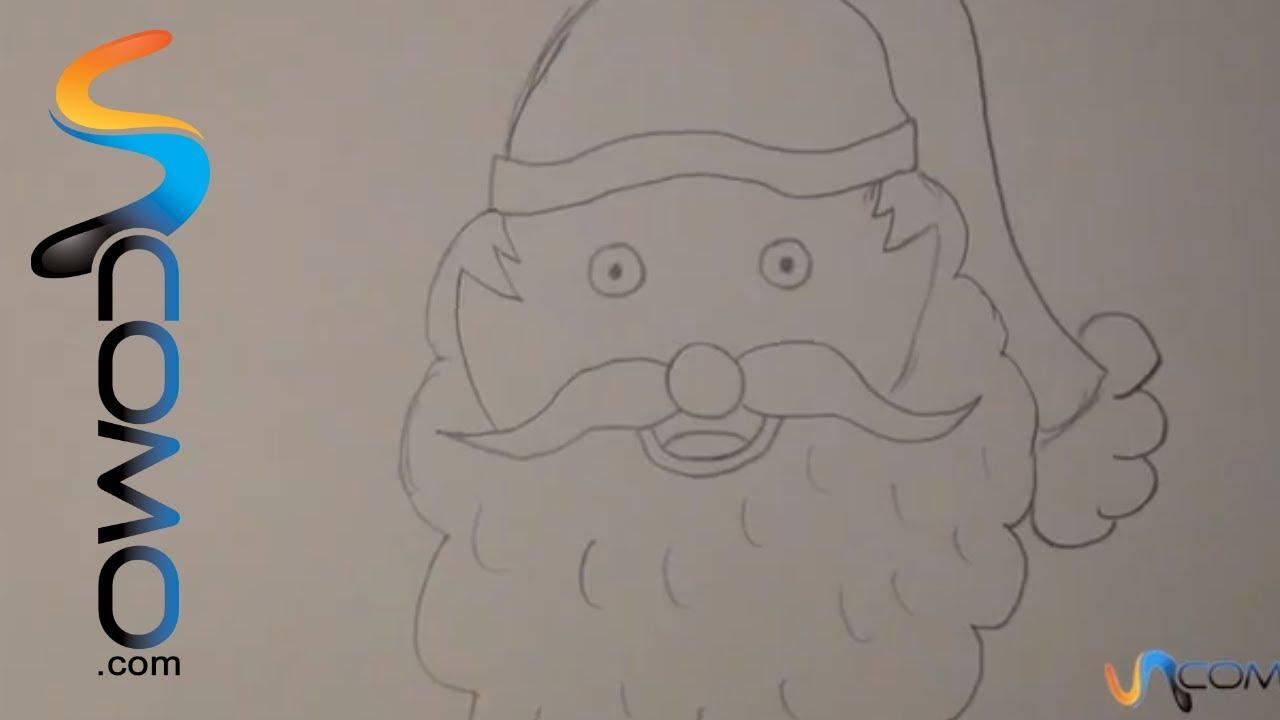 Cara Papa Noel / Face ofSanta Claus - YouTube