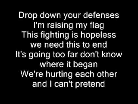 Christina Aguilera- Cease Fire (Lyrics on Screen) + Full Song