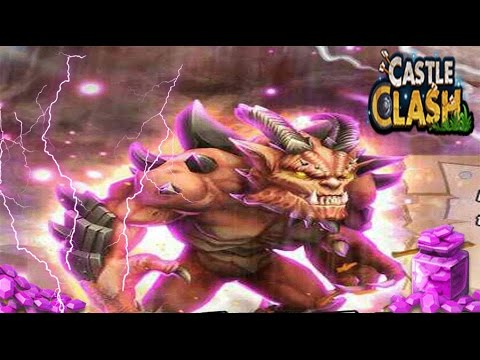 Castle Clash Destroyer Crazy New Hero!