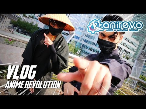 ANIME REVOLUTION (ANIREVO) 2018 | MEETING PROZD AND HOW TO DANCE AT CONVENTIONS