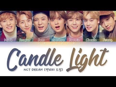 NCT DREAM (엔시티드림) - CANDLE LIGHT (사랑한단 뜻이야) (Color Coded Lyrics Eng/Rom/Han/가사)