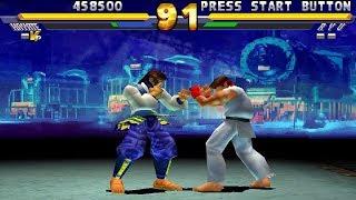 Street Fighter EX2 Plus [PS1] - play as Hayate