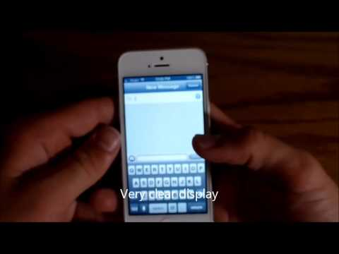 Apple iPhone 5 Review Part 1 (Virgin Mobile)