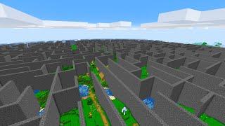 야생에 생긴 거대한 미로 [ 마인크래프트 ] Zombie Maze Escape in minecraft
