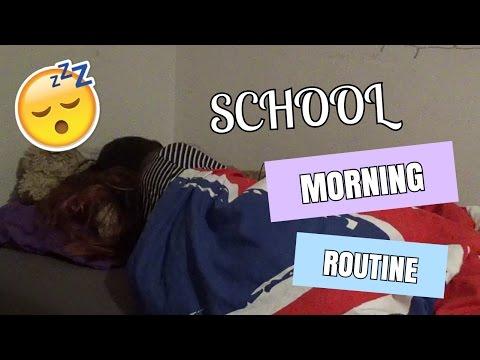 My School Morning Routine   Naomi van den Bergh