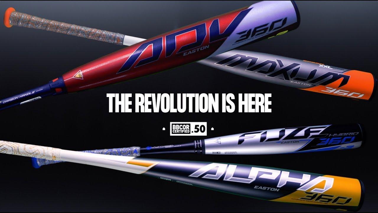 Introducing the Easton 2020 Baseball Bat Lineup!