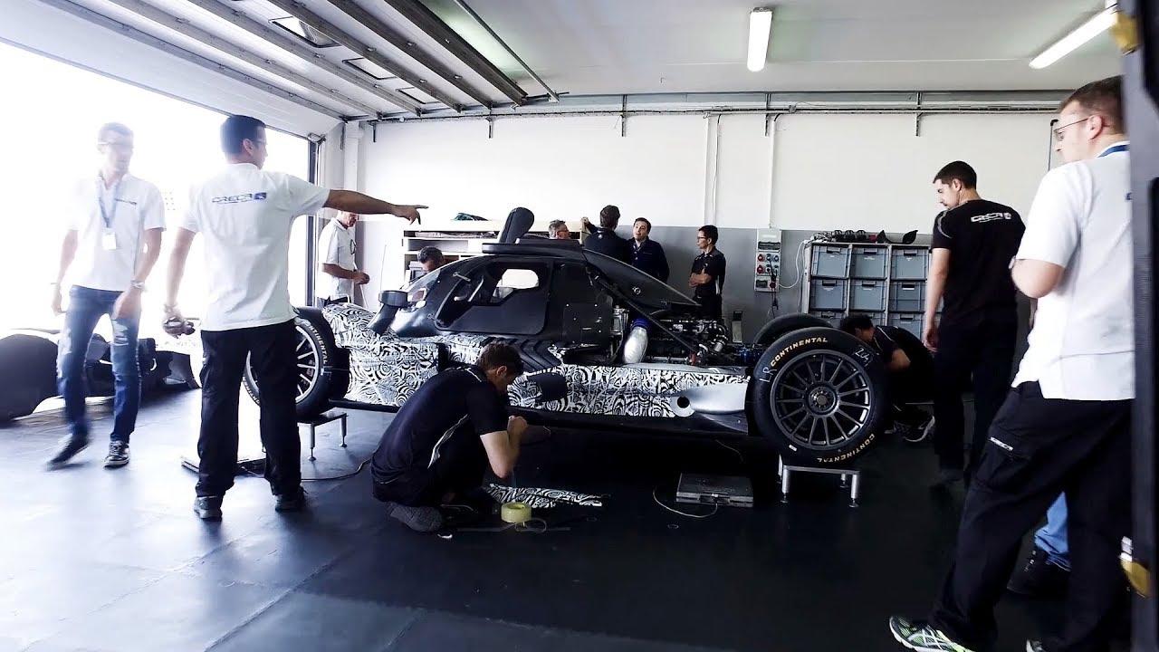 Acura Arx  Prototype Race Car Teaser