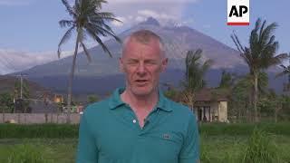 Video AP Reporter latest on Mount Agung volcano in Bali download MP3, 3GP, MP4, WEBM, AVI, FLV Oktober 2017