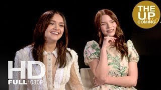 Olivia Cooke and Anya Taylor-Joy interview for Thoroughbreds