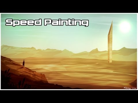 Abstract Desert Paintings