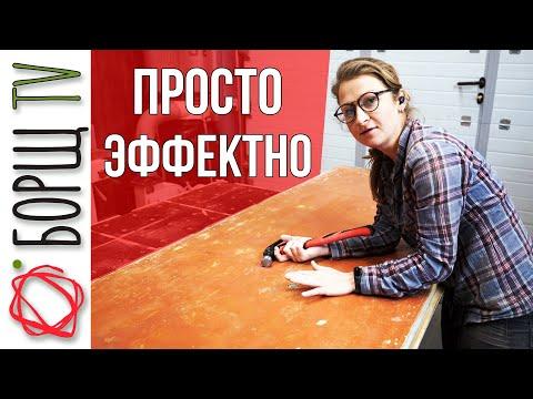 Как входную деревянную дверь обновить своими руками