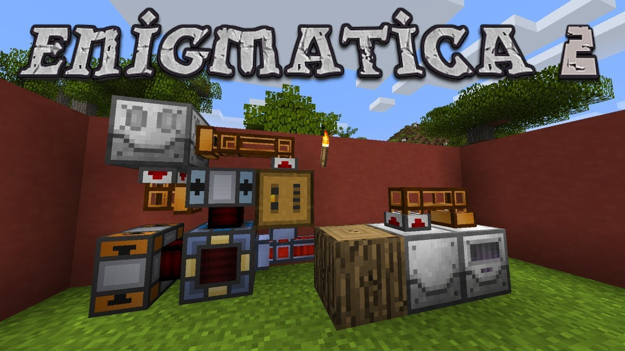 Enigmatica 2 #4 - Energy Beginnings In New Base (Modded Minecraft 1 12 2)