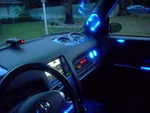 scion xb custom interior lighting youtube. Black Bedroom Furniture Sets. Home Design Ideas