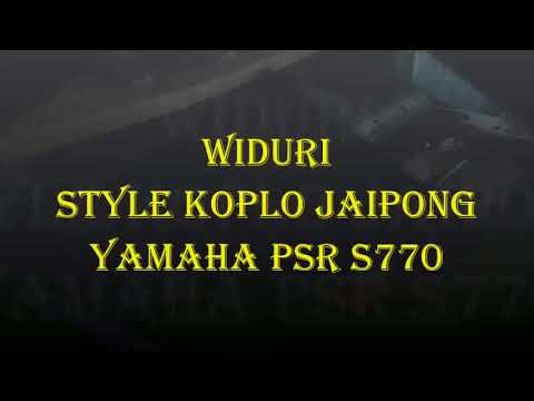 Widuri Koplo Jaipong Psr s770 karaoke