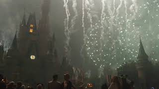 Anabelle Abrams Mickey's not so scary 2017 fireworks