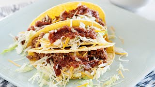 All American Classic Beef Tacos | Week 3 #TacoTuesday Cookbook Recipe!