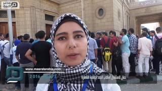 مصر العربية | حفل لاستقبال الطلاب الجدد بجامعة القاهرة