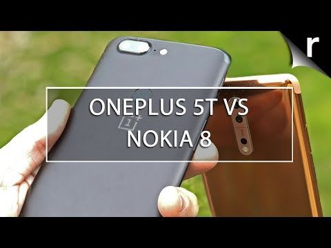 OnePlus 5T vs Nokia 8: Great value flagship phones