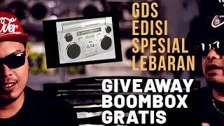 GDS Spesial Lebaran : BOOMBOX GRATIS!
