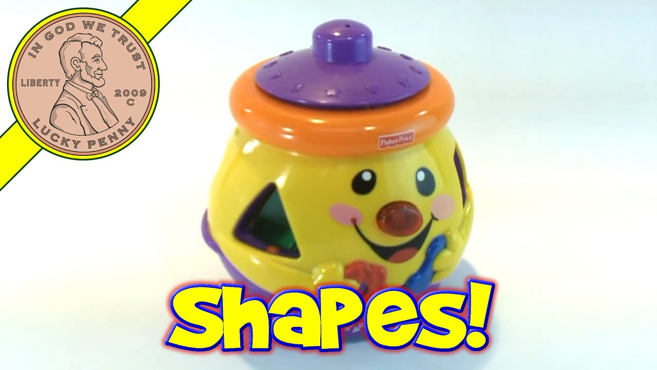 Fisher Price Laugh And Learn Cookie Jar Shape Surprise Toy