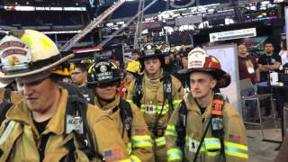 #FDIC2016 9/11 Memorial Stair Climb Procession