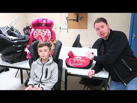 New Car booster seat law