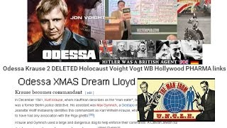 Odessa Krause 2 DELETED Holocaust Voight Vogt WB Hollywood PHARMA links Psychiatry £$ WW2