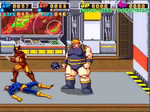 x men arcade game nothing moves the blob youtube