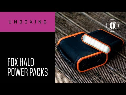 CARPologyTV | Fox Halo Power Packs Unboxing Review | Never run out of charge on the bank again!