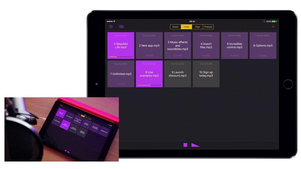 Soundboard Studio for iOS
