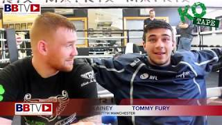 TRAINING WITH RICKY HATTON! TOMMY FURY AND CHRIS BLAINEY CAMP NEWS AND TYSON'S COMEBACK