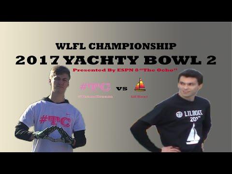 2017 White Lightning Football League Yachty Bowl l #TeamCream vs Lil Boat l