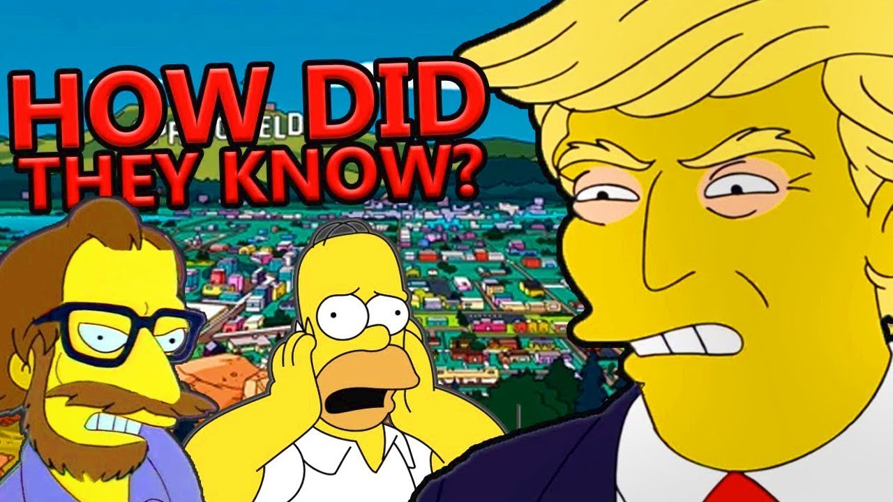 how the simpsons keeps predicting things youtube