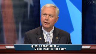 Is Abortion An Issue?   Iowa Republican Governor Debate (May 20, 2010)