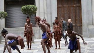 Dancers from Namibia at the #GREATPubRock event
