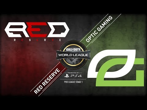 OpTic Gaming vs Red Reserve | CWL Pro League | Stage 1 | Week 6 | Day 2