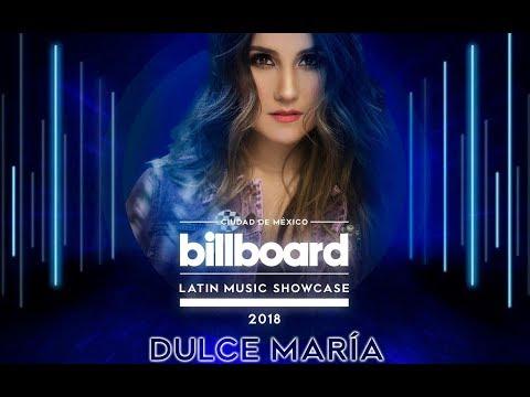 Dulce Maria no evento Billboard show case 2018 Inevitable/Rompecorazones /Cupido Criminal