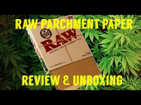 FULL MELT FUSION'S - RAW SILICONE COATED PARCHMENT PAPER EXTRACT ENVELOPES REVIEW & UNBOXING