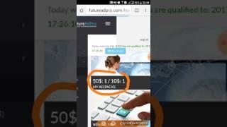 Kiếm tiền với futureadpro xem 10 quảng cáo hàng ngày