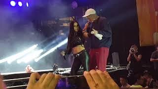 Bad Bunny feat Nati Natasha - Amantes una Noche En vivo en Paraguay  #LicPY