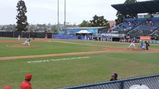 Jennings, Nick -  AC Games  08 08 2016 - 2IP 3K 0ER 2BB  FB90MPH - KC Royals vs Nationals 4th inning