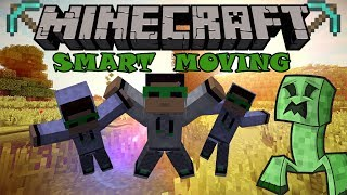 Обзор мода Smart Moving-(#1), Minecraft 1.7.10