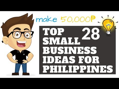 Top 28 Small Business Ideas for Philippines In 2018 - Make 5