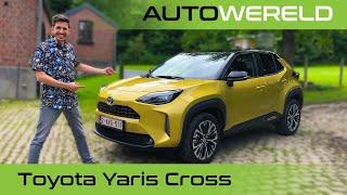 De Hybride Toyota Yaris Cross (2022) Review Met Andreas Pol | RTL Autowereld Test